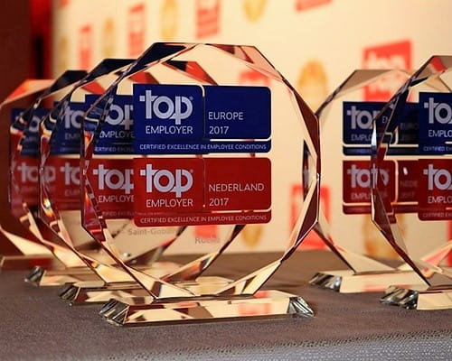 Top Employer awards