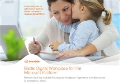 the Elastic Digital Workplace for the Microsoft platform