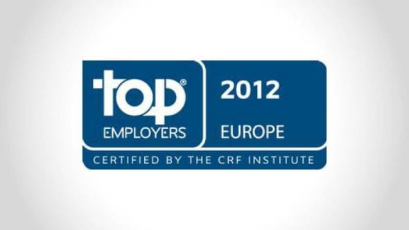 top employer in Europe