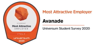 Avanade Italy most attractive employer