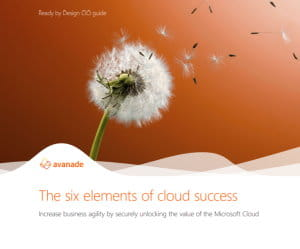 six elements cloud success